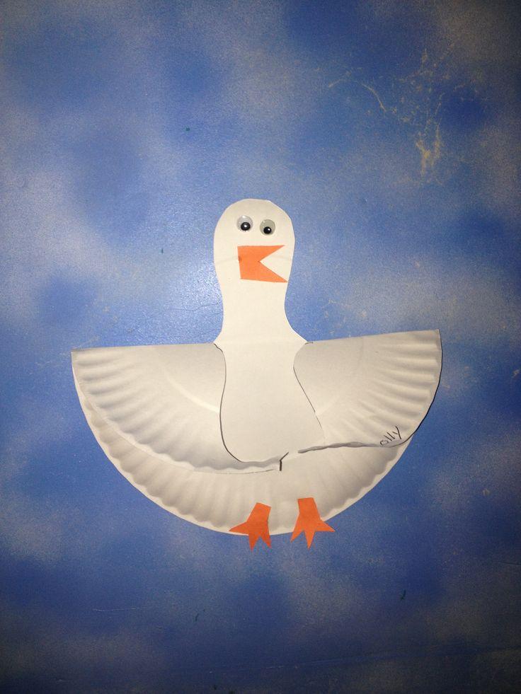 Summer kids craft ... Seagull!