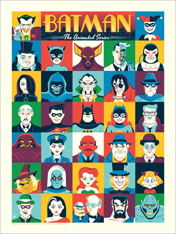 Batman: The Animated Series by Dave Perillo