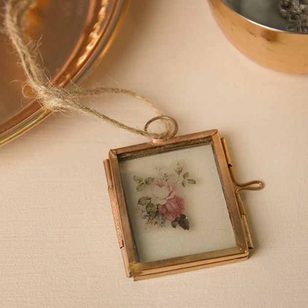 Copper Finish Mini Hanging Photo Frame   Shop our Spring Look Book   Sass & Belle