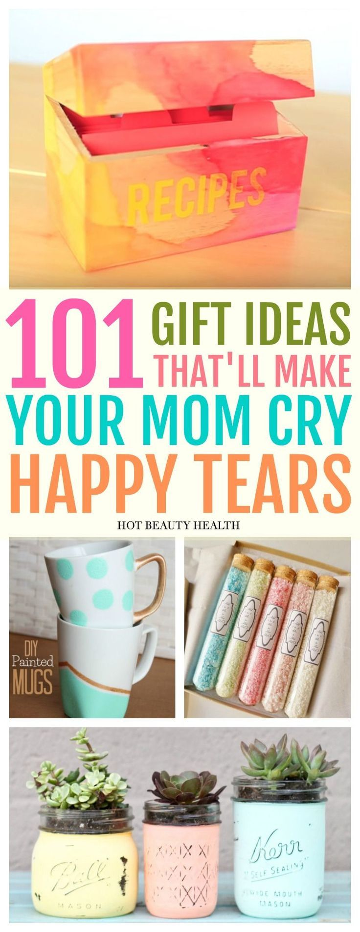Mother's Day Gift Guide Diy gifts for mom, Homemade