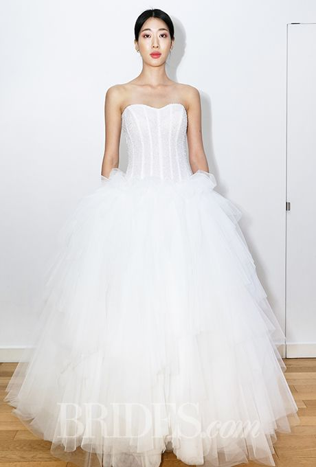 Brides: Elisabetta Polignano Wedding Dresses   Fall 2015   Bridal Runway Shows   Brides.com | Wedding Dresses Style