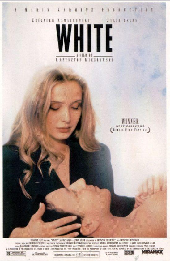 Three Colours White Julie delpy, Krzysztof kieslowski