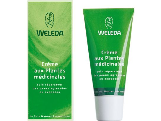 Crème aux Plantes Médicinales de Weleda http://www.vogue.fr/beaute/exclu-vogue/diaporama/dans-le-vanity-de-victoria-beckham/16420/image/884158#!creme-aux-plantes-medicinales-de-weleda