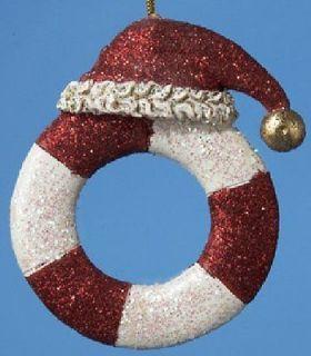 Preserver Nautical Christmas Tree Ornament