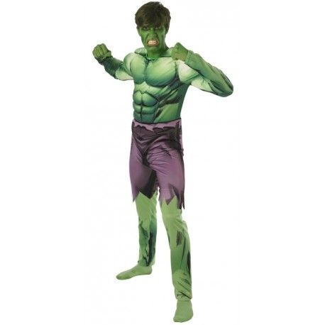 Déguisement Hulk™ adulte musclé luxe