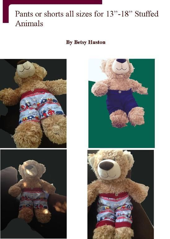 The 524 best images about Build-A-Bear Knit and Crochet patterns and maybe a ...