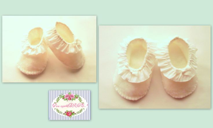 zapatitos de tela on Pinterest | Zapatos, Bebe and Patrones