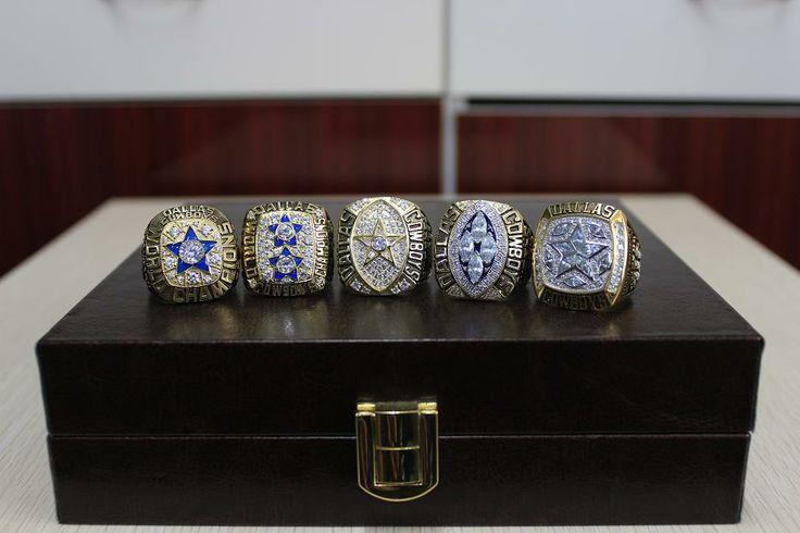 All 5 Dallas Cowboy Superbowl Rings Cowboys Pinterest