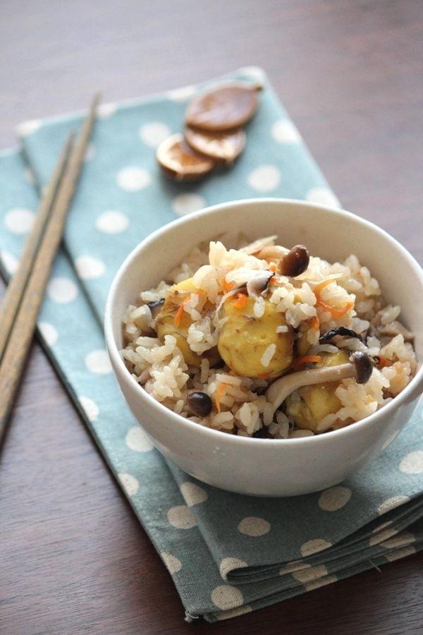 栗ときのこの五目炊き込みご飯。 by 栁川香織(Cho-coco) / レシピサイト「ナディア / Nadia」/プロの料理を無料で検索
