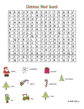 26 best Christmas Word Search images on Pinterest