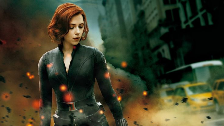 Black Widow Scarlett Johansson Iron Man Marvel Comics The