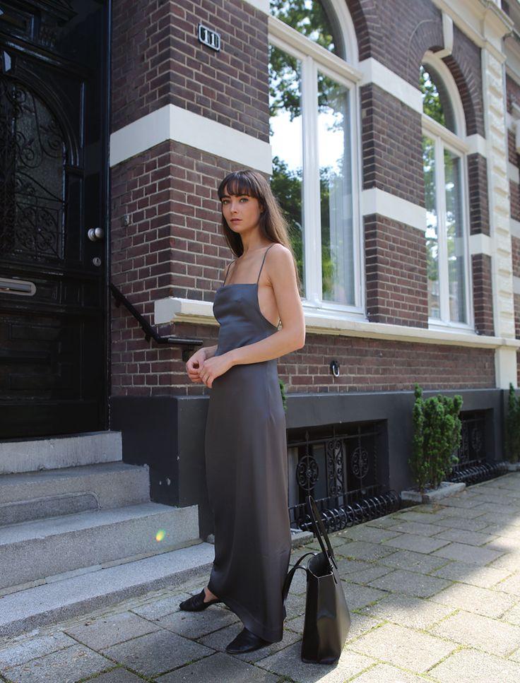 Phoebe Slip Dress from Paris Georgia Basics— MODEDAMOUR