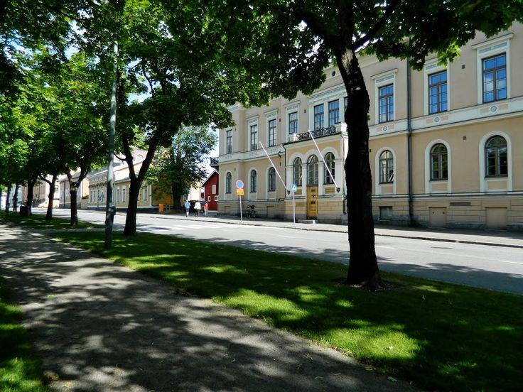 Vaasanpuistikko, Vasaesplanaden. Vaasa Finland.