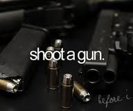 Ive always been so scared to shoot a gun...but would really like to