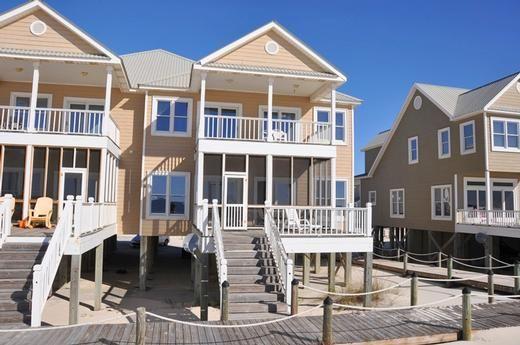 Fort Morgan Alabama Beach House Vacation Rentals