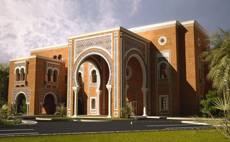 Arabic Architecture Houses andalusian styl...