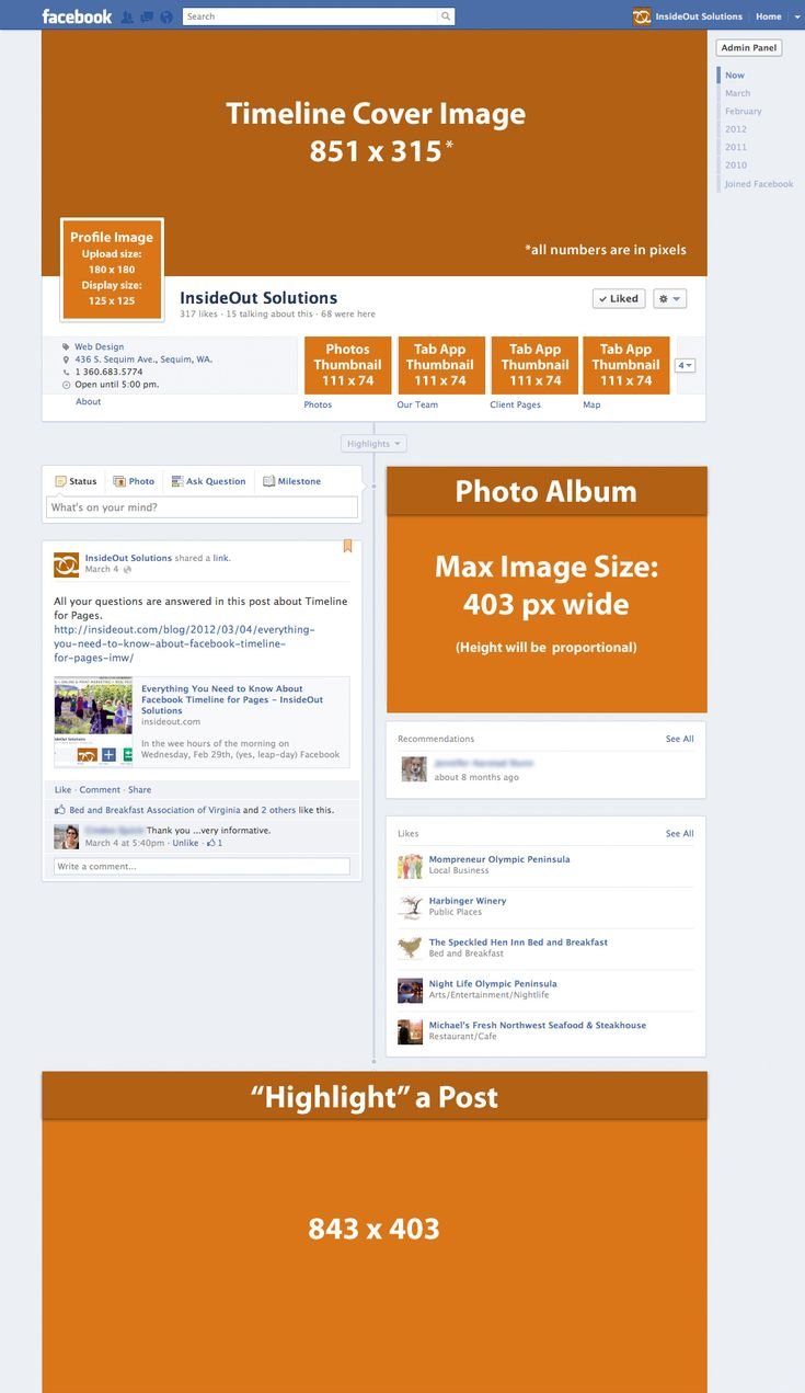 Here we offer those of you comfortable with image editing software a great  sheet of the · Timeline FormatFacebook ...