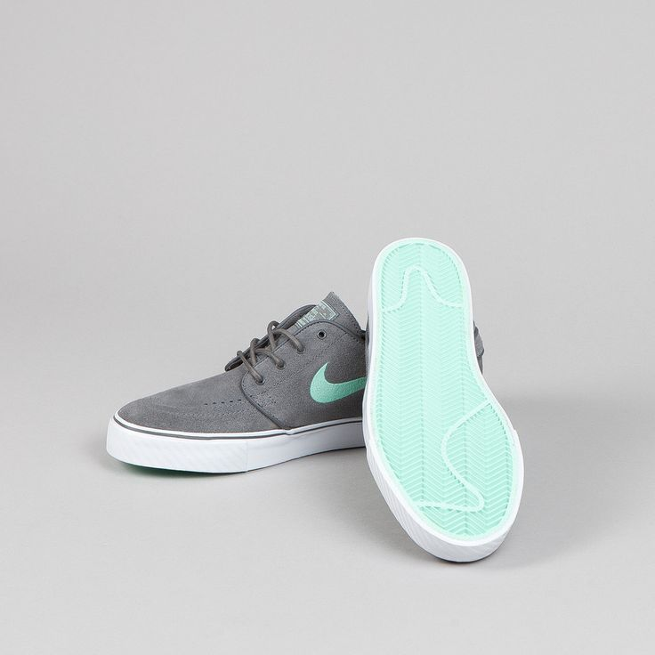 Nike SB Stefan Janoski Dark Grey - Medium Mint Clothing, Shoes & Jewelry : Women : Shoes http://amzn.to/2kHQg0c