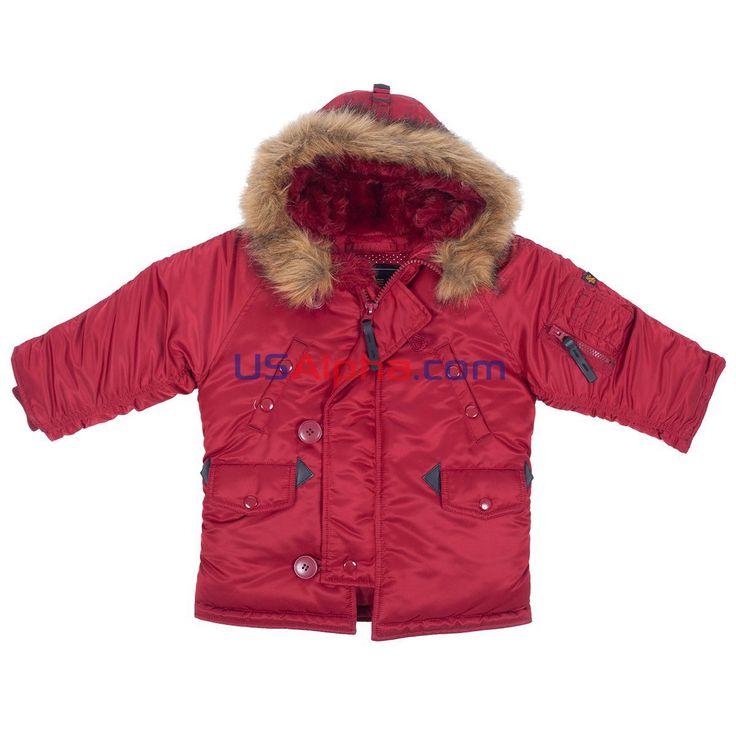 Куртка Youth N-3B#аляска #парка #детская куртка #теплая куртка #детям #мода #alpha #usalpha.com
