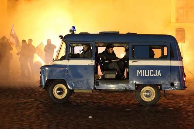 Martial Law in Poland (historical reenactment)