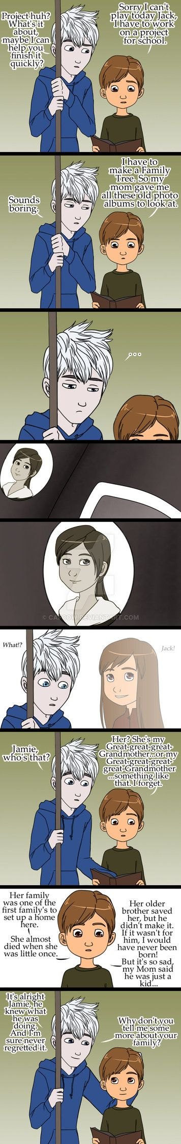 has made a fanfic based off of my Ancestry pictures, www.fanfiction.net/s/8742114/1... please check it out. ]:3 So this idea popped into my mind when seeing Rise of the Guardians. Forgive me with t...