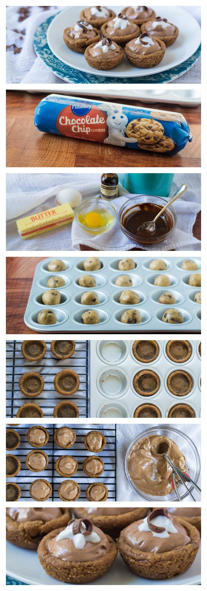 How to make Mini French Silk Cookie Pies!