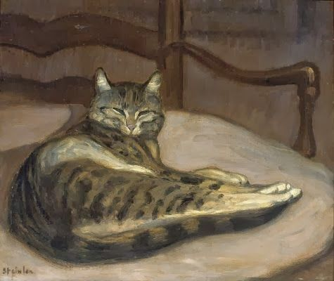Théophile Alexandre Steinlen (1859-1923) Art Nouveau Painter and Printmaker