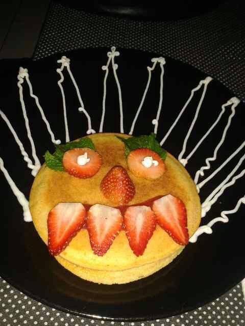 Pie strawberry hantuu #DBC