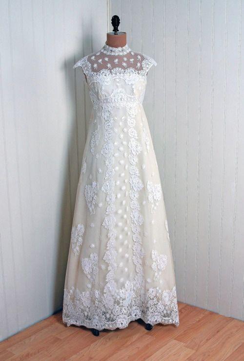 1960s Priscilla of Boston wedding dress via Timeless Vixen Vintage