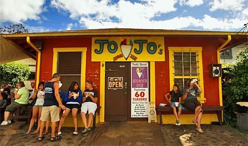 Kauai:  Jo-Jo's Shave Ice  Price: $2 to $4  Scoping it out: Yes, we know. Shave ice does not constitute a meal,...