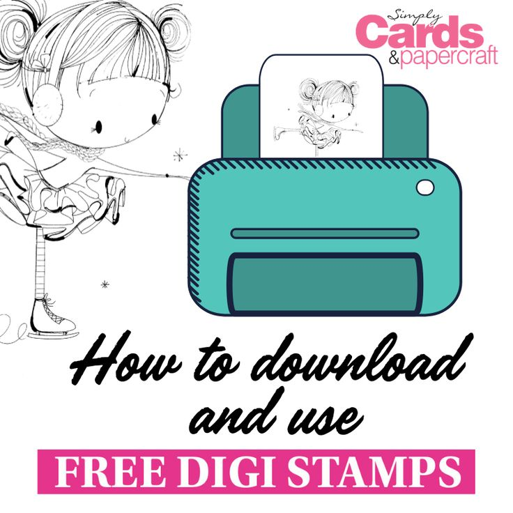 How to download and use free digi stampsVirginia Deaton