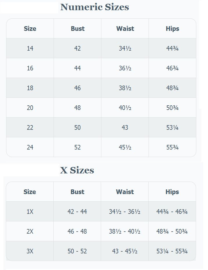 66 best images about Brand Name Plus Size Charts on Pinterest ...