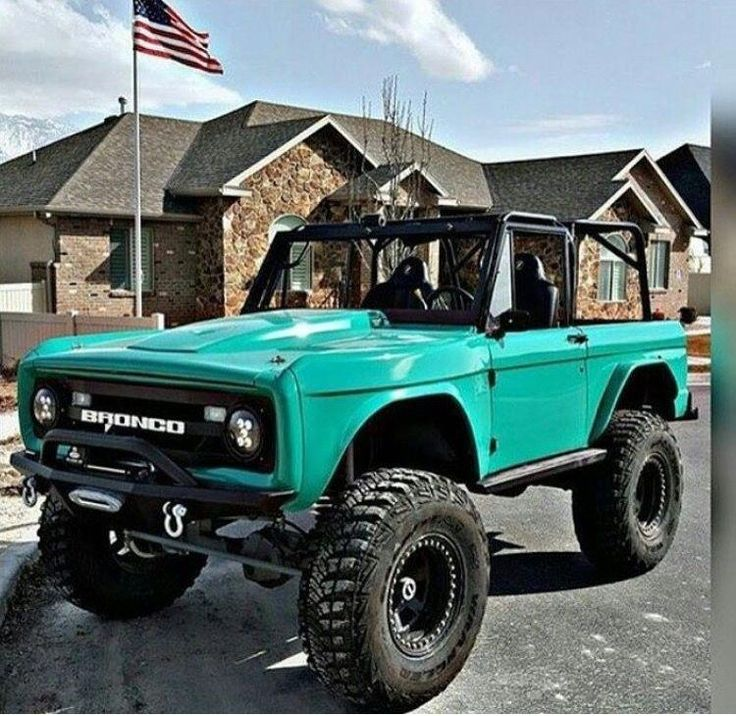 ford suv Fordtrucks Bronco truck, Ford trucks, Trucks