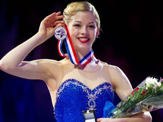 Gracie Gold poised to grab throne as USA ice princess