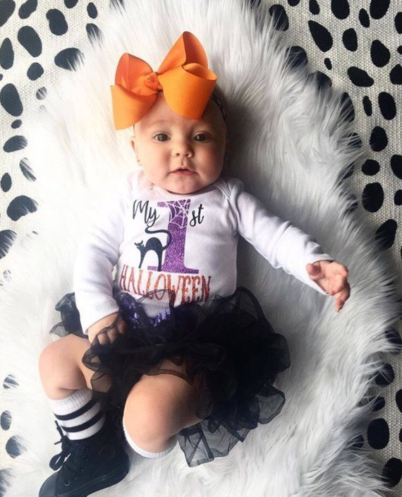 I Put a Spell on You Toddler Halloween 1st First Halloween Baby Girl Clothes Halloween Outfit Baby Girl Halloween Shirt