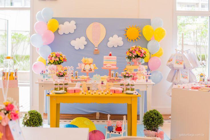 decoraçao de festa com mesa cavalete - Pesquisa Google