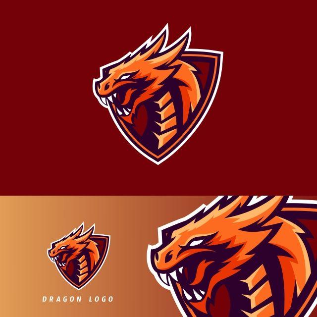 Dragon Esport Gaming Mascot Logo Template Logo Dragon Dragon Icon Sports Logo Design