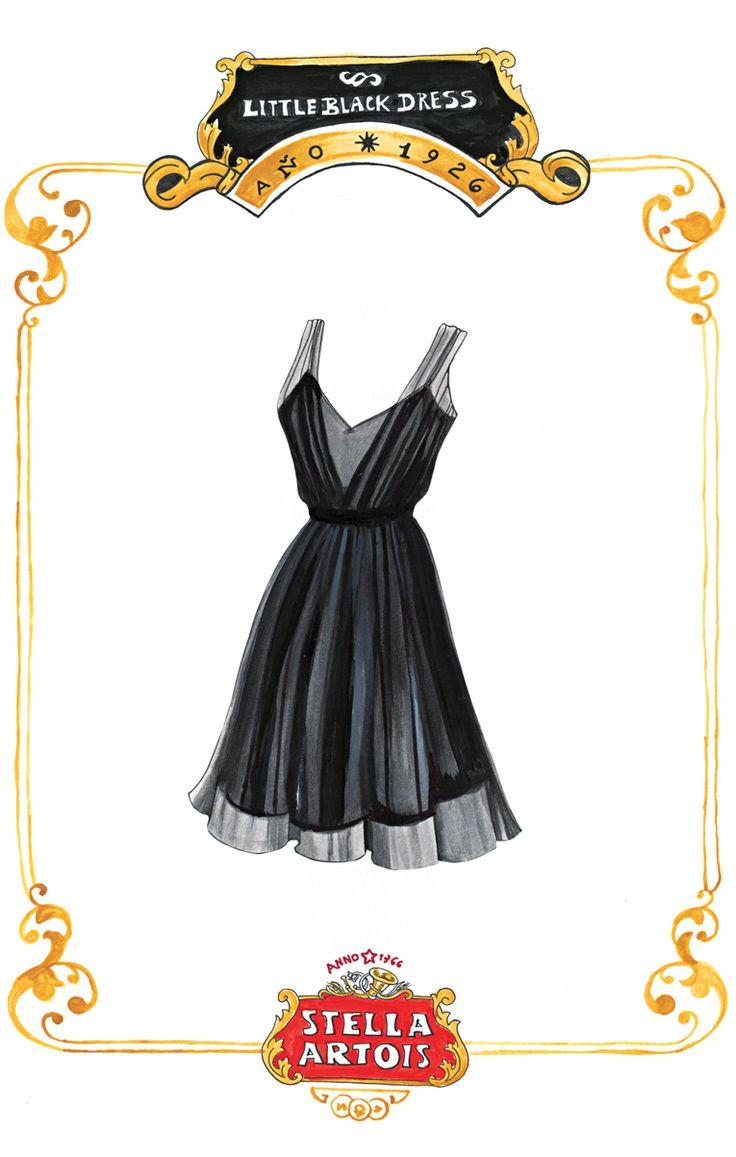 Por su elegancia y su adaptabilidad, el vestidito negro es un diseño perfecto, obligatorio en el clóset de toda mujer contemporánea e independiente.