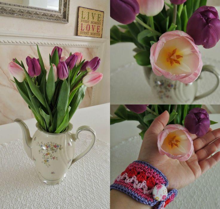 tulip♥love - bracelet