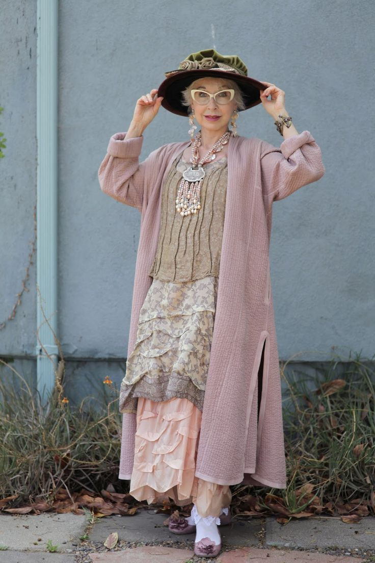 ADVANCED STYLE: Gretchen Schields - Is she cute, or what!!