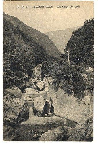 CPA 73 Savoie Albertville Gorges de l'Arly fr.picclick.com