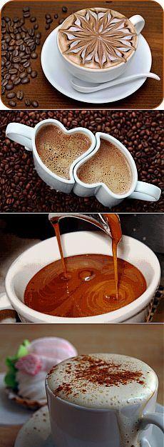 Черный, как ночь, сладкий, как грех, горячий, как поцелуй, крепкий, как проклятие...Как заварить лучший кофе