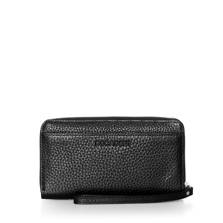 DECADENT 342 Zip Wallet Black  1.100,-