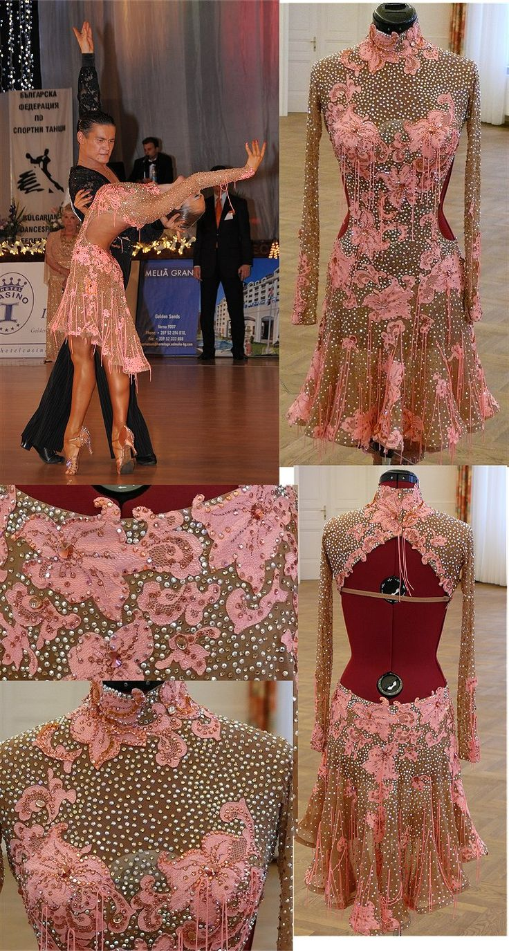 This is the most beautiful Latin comp dress I have ever seen