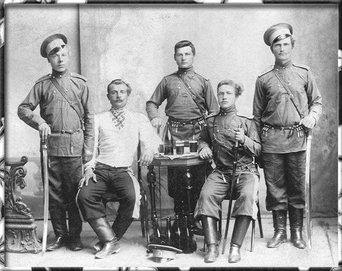 Кубанские казаки на фото XIX-XX века