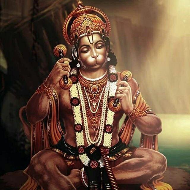 Manojavam Maruthi tulya vegan jithendriyam Budhi matham varistam, vathatmajam vanara yudha mukhyam, SRI RAMA dutham shirasa namami