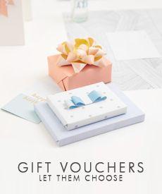 Let them choose. Send an e-Gift Voucher