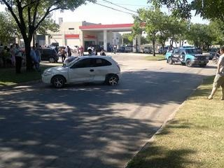 Choque de autos en Malabrigo