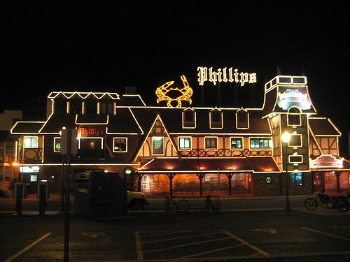 Phillips Seafood Buffet & Restaurant Ocean City MD; crabs, crabs, crabs - yummy; want to go there soon!