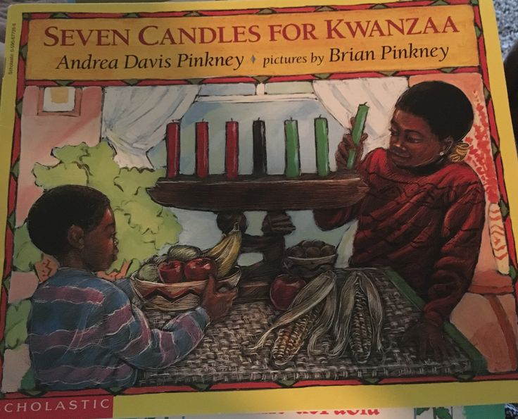 Historical Fiction Title: Seven Candela of Kwanzaa By: Andrea Davis Pinkney and illustrated by David Pinkney Ages: Unknown Summary: This book teaches kids about the history and traditions of Kwanzaa through the story of a family.